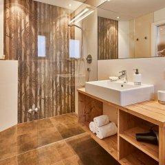 Отель Garni Appartements Arnika Стельвио ванная фото 2