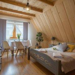 Отель Willa Góralsko Riwiera Польша, Закопане - отзывы, цены и фото номеров - забронировать отель Willa Góralsko Riwiera онлайн комната для гостей фото 3