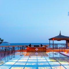 Отель Kairaba Alacati Beach Resort Чешме бассейн