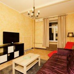 Апартаменты Luxkv Apartment On Teterenskiy Москва комната для гостей фото 4