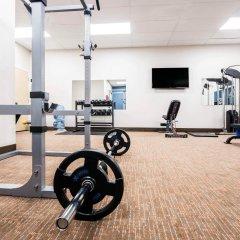 Отель Comfort Inn & Suites фитнесс-зал
