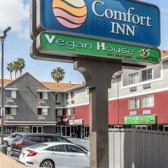 Отель Comfort Inn Los Angeles Лос-Анджелес парковка