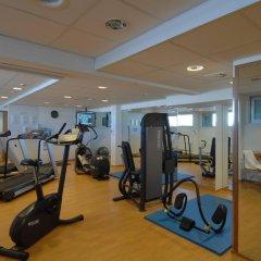 Отель Hilton Kalastajatorppa Хельсинки фитнесс-зал фото 2