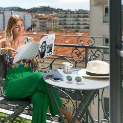 Отель Best Western Lakmi hotel Франция, Ницца - 9 отзывов об отеле, цены и фото номеров - забронировать отель Best Western Lakmi hotel онлайн балкон