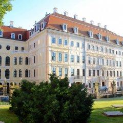 Hotel Taschenbergpalais Kempinski Dresden вид на фасад