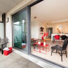 Отель Sweet Inn Apartments Belliard Бельгия, Брюссель - отзывы, цены и фото номеров - забронировать отель Sweet Inn Apartments Belliard онлайн балкон