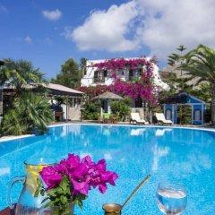 Отель Holiday Beach Resort Греция, Остров Санторини - отзывы, цены и фото номеров - забронировать отель Holiday Beach Resort онлайн питание фото 3
