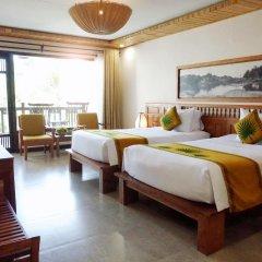 Отель Palm Garden Beach Resort And Spa Хойан комната для гостей