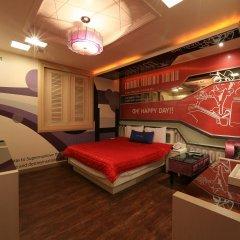 Haeundae Grimm Hotel 2* Стандартный номер с различными типами кроватей фото 27