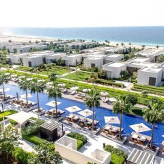 Отель The Oberoi Beach Resort, Al Zorah пляж фото 2