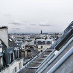 Отель Hôtel Audran балкон