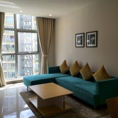 Апартаменты Bluesky Serviced Apartment Airport Plaza комната для гостей