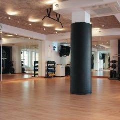 Hotel Capricho фитнесс-зал