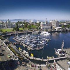 Отель Grand Pacific Канада, Виктория - отзывы, цены и фото номеров - забронировать отель Grand Pacific онлайн балкон