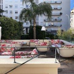 Отель Hôtel Le Canberra - Hôtels Ocre et Azur балкон