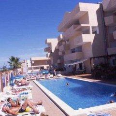 Отель Apartamentos Blue Star бассейн