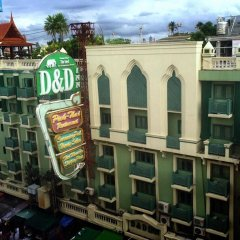 Отель D&D Inn Таиланд, Бангкок - 4 отзыва об отеле, цены и фото номеров - забронировать отель D&D Inn онлайн балкон
