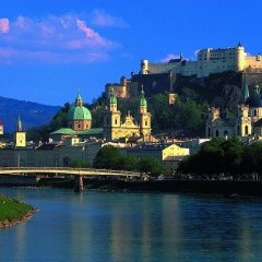 Отель Jufa Salzburg City Зальцбург приотельная территория фото 2