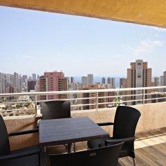 Отель Sandos Benidorm Suites Испания, Бенидорм - отзывы, цены и фото номеров - забронировать отель Sandos Benidorm Suites онлайн балкон