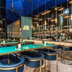 Oasia Hotel Downtown Singapore гостиничный бар