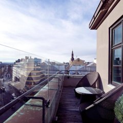 Отель Clarion Collection Hotel Folketeateret Норвегия, Осло - отзывы, цены и фото номеров - забронировать отель Clarion Collection Hotel Folketeateret онлайн балкон