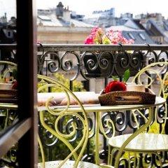 Отель BRITANNIQUE Париж балкон