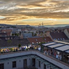 Aria Hotel Budapest балкон