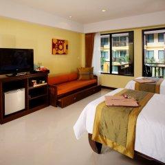 Отель Diamond Cottage Resort And Spa пляж Ката комната для гостей