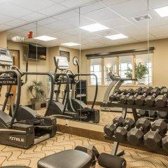 Отель Comfort Inn North/Polaris фитнесс-зал