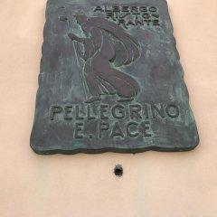 Hotel Pellegrino E Pace Лорето ванная