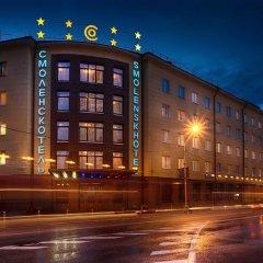 Гостиница СМОЛЕНСКОТЕЛЬ Смоленск вид на фасад