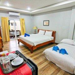 Отель Jomtien Beach Pool House комната для гостей фото 5