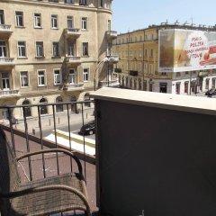 Отель bed4city Szpitalna Street балкон