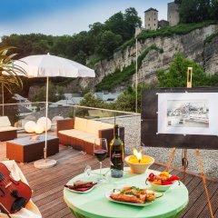 Отель Star Inn Hotel Salzburg Zentrum, by Comfort Австрия, Зальцбург - 7 отзывов об отеле, цены и фото номеров - забронировать отель Star Inn Hotel Salzburg Zentrum, by Comfort онлайн питание фото 2