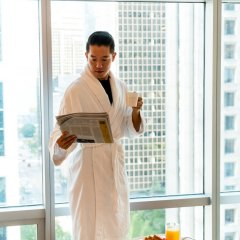 Отель Shangri-La Hotel Vancouver Канада, Ванкувер - отзывы, цены и фото номеров - забронировать отель Shangri-La Hotel Vancouver онлайн сауна