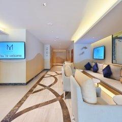 Отель M Pattaya Hotel Таиланд, Паттайя - отзывы, цены и фото номеров - забронировать отель M Pattaya Hotel онлайн интерьер отеля фото 2