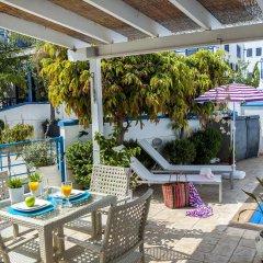 Отель Nicol Villas Кипр, Протарас - отзывы, цены и фото номеров - забронировать отель Nicol Villas онлайн балкон