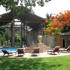 Отель Fiesta Americana Hacienda San Antonio El Puente Cuernavaca Ксочитепек бассейн
