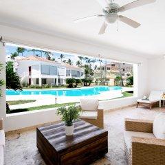 Отель Los Corales Villas & Apartments Доминикана, Пунта Кана - отзывы, цены и фото номеров - забронировать отель Los Corales Villas & Apartments онлайн бассейн