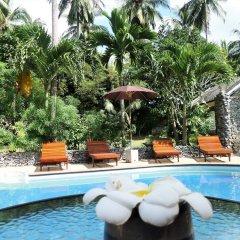 Отель tropical heaven's garden samui бассейн