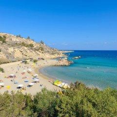 Отель Konnos Beach Villa 3 пляж