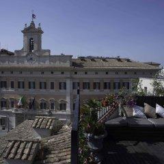 Отель Colonna Palace Hotel Италия, Рим - 2 отзыва об отеле, цены и фото номеров - забронировать отель Colonna Palace Hotel онлайн балкон