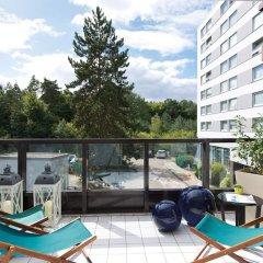 Отель Leonardo Frankfurt City South балкон