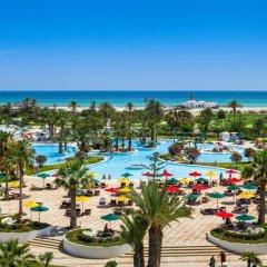 Отель Djerba Plaza Hotel Тунис, Мидун - отзывы, цены и фото номеров - забронировать отель Djerba Plaza Hotel онлайн пляж фото 2
