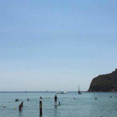 Hotel Poetto пляж