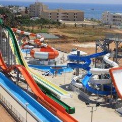 Отель Panthea Holiday Village Water Park Resort пляж