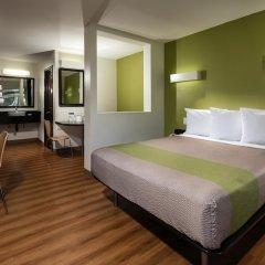 Отель Motel 6 Canoga Park США, Лос-Анджелес - отзывы, цены и фото номеров - забронировать отель Motel 6 Canoga Park онлайн комната для гостей фото 3