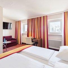Central Hotel Гамбург комната для гостей фото 5
