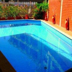 Отель Cristallo Кьянчиано Терме бассейн