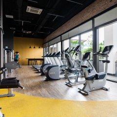 Апартаменты Henry Apartment Luxury Studio фитнесс-зал фото 4